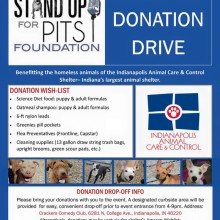 sufp foundation donation for Indianapolis shelter animals!