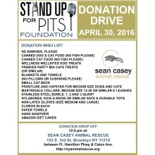 TODAY is SUFP New York Donation Drive!!!!