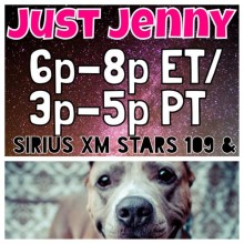 "REBECCA CORRY on SIRIUS XM's ""Just Jenny"""