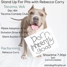 Stand Up For Pits TACOMA!!!